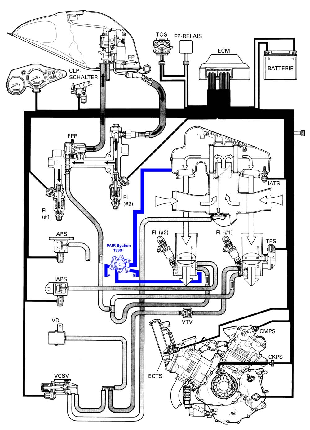 Tl1000r Wiring Diagram 2001 Suzuki Gsxr 1000 Pair Valve Removal Rh Tlmods Com Tl1000s